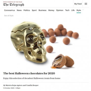Prestat is here! Hints by the The Telegraph Luxury for the best Halloween treats.